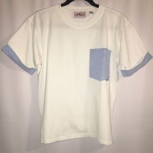 VINTAGE | CHIC | MEDIUM | POCKET TEE TOP